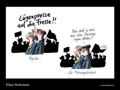 Karikatur von Klaus Stuttmann