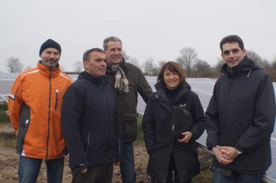 Foto zur Meldung: Solarpark geht ans Stromnetz