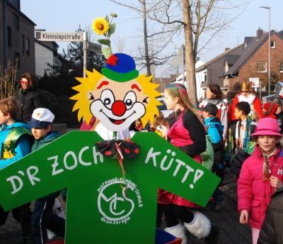 Foto zur Meldung: Veedelzoch zum Rathaus