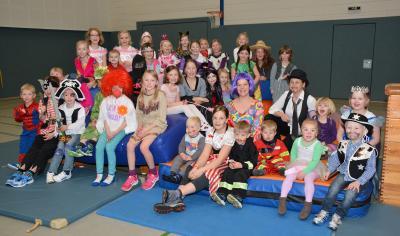 Foto zur Meldung: Kinderfasching des TuS Elsdorf