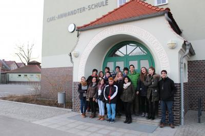 Foto zur Meldung: Chilenische Schüler aus Valdivia besuchen Calau