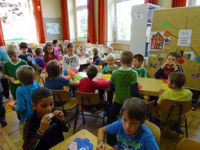 Vorschaubild zur Meldung: Schulübernachtung und gesundes Frühstück des Elternbeirats