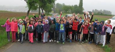 Vorschaubild zur Meldung: 720 km und 1665€ erlaufen die Grundschüler für einen guten Zweck