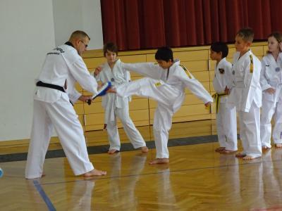Vorschaubild zur Meldung: Taekwondo als weitere AG im Betreuungsangebot der Grundschule