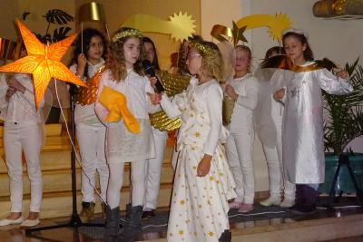 Vorschaubild zur Meldung: Weihnachtsmusical der Grundschule