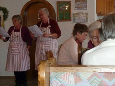 Foto zur Meldung: Ein heiterer und gemütlicher Nachmittag im Seniorenkreis