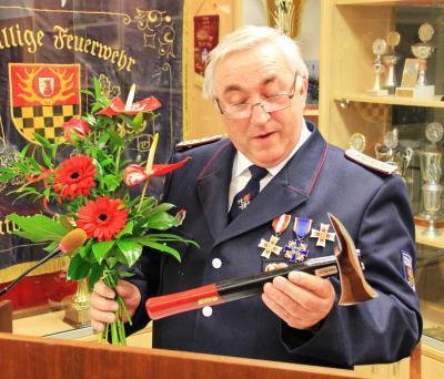 Foto zu Meldung: Ehren - Gemeindewehrführer
