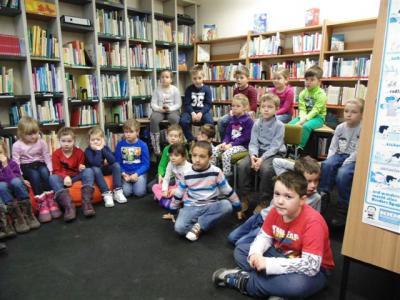 Foto zur Meldung: Bibliothekseinführung