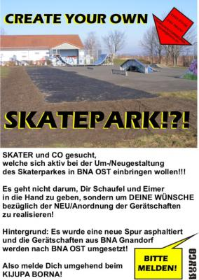 Foto zur Meldung: CREATE YOUR OWN SKATEPARK!?!