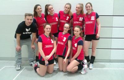 Foto zur Meldung: Kreisfinale Volleyball