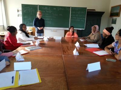 Foto zu Meldung: Deutschkurse für Gäste aus dem Ausland