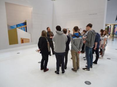 Foto zur Meldung: Kunst pur – Schülerexkursion nach Hamburg