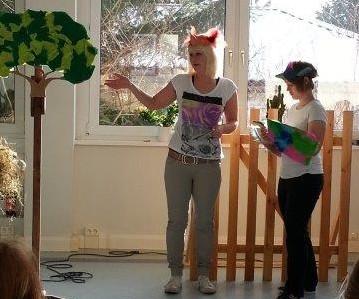 Foto zur Meldung: Projektangebot der Berufsfachschule der Altenpflege- und Sozialassistenz