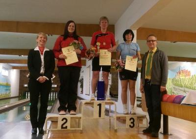 Foto zur Meldung: Kreiseinzelmeisterschaften der Frauen und Seniorinnen