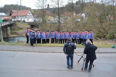 Filmaufnahmen des hr Fernsehen, Foto Axel Rode