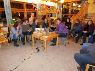 Foto zur Meldung: Elternversammlung im Kindergarten St. Georg