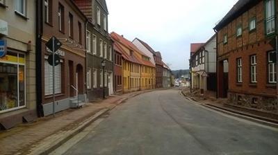 Foto zur Meldung: Bauarbeiten in der Wilhelm-Pieck-Str.