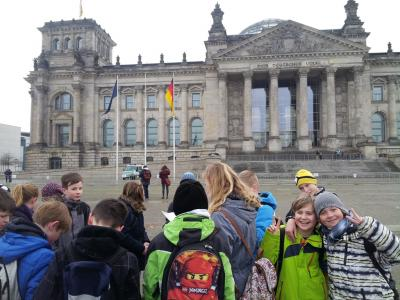 Foto zu Meldung: Ein aufregender Tag in Berlin
