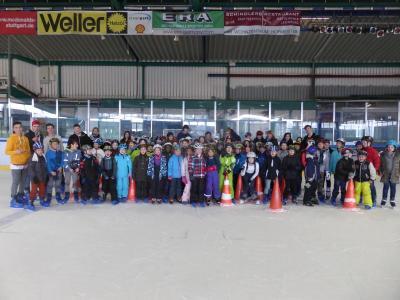 Foto zur Meldung: Eislauftag in Bietigheim