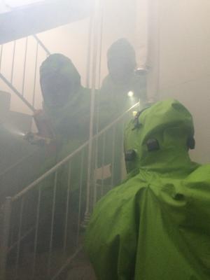Foto zu Meldung: Chemieschutz Übungstag