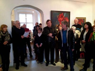 Foto zu Meldung: Vernissage in Burg Friedland