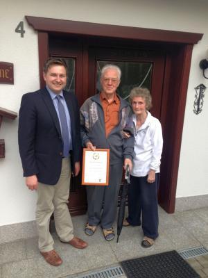 Foto zu Meldung: 80. Geburtstag von Waldemar Schäfer