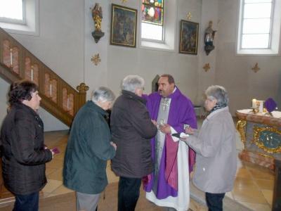 Foto zur Meldung: Krankensalbungsgottesdienst in der Pfarrkirche St. Georg