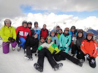 Foto zur Meldung: Skilager 2015