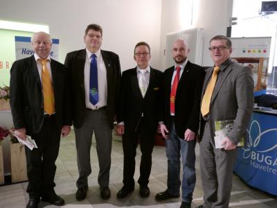 Foto zu Meldung: LAGA Botschafter bei Minister Vogelsänger