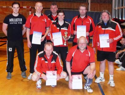 Siegerehrung TT-Vereinsmeisterschaften