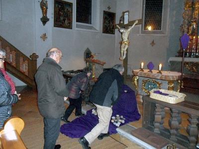 Foto zur Meldung: Bußgottesdienst in der Pfarrkirche St. Georg