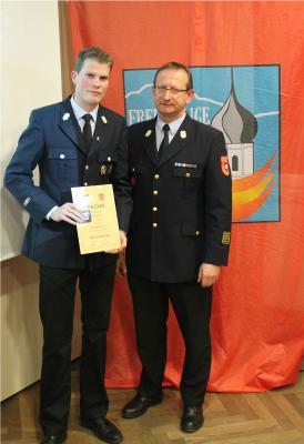 Foto zur Meldung: 137. Jahreshauptversammlung der Feuerwehr Happing