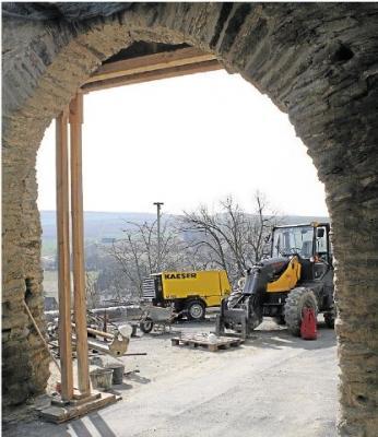 Foto zur Meldung: Ortsgemeinde: Wird das Torhaus Burgschänke?