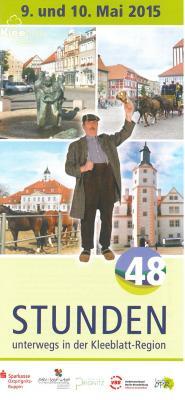Foto zu Meldung: Das Programm für 48 Stunden Kleeblatt-Region am 9. und 10. Mai 2015 steht