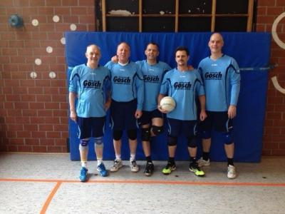 Foto zur Meldung: Faustballturnier des TSV Burgdorf am 1.3.2015