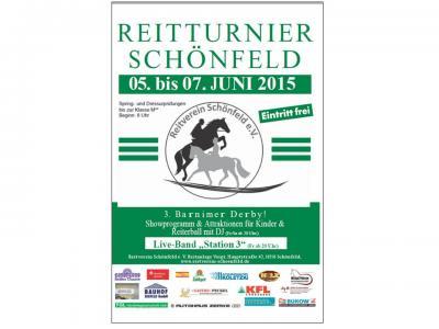 Flyer 5.. Reitturnier Schönfeld