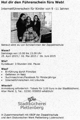 KBOP Zeppelinschule Plettenberg KBOP Zeppelinschule Plettenberg