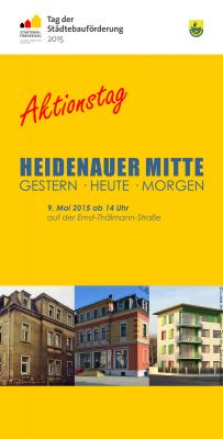 """Foto zur Meldung: Heidenauer Journal: """"Aktionstag holt Heidenauer Industriegeschichte ins Zentrum"""""""