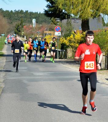 Foto zu Meldung: Laager Clubläufer beim Lauf um die Feisneck