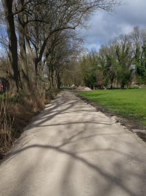 Foto zur Meldung: In Ketzin/Havel wird derzeit ein neuer Rad- und Wanderweg gebaut