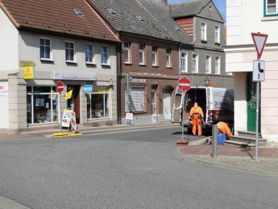 Foto zur Meldung: Straßenumleitung