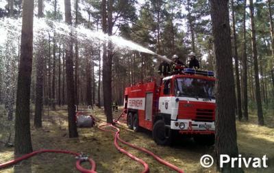 Vorschaubild zur Meldung: Einsatz Nr. 53/2015 - Waldbrandübung im Amt Lieberose/Oberspreewald