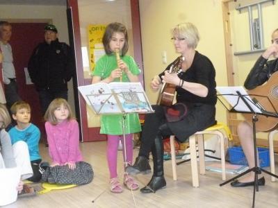 Foto zur Meldung: Volles Haus beim 2. musikalischen Tag der offenen Tür in Neukalen!