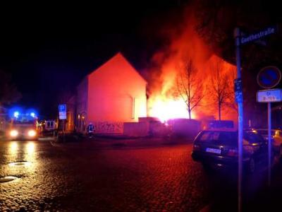 Vorschaubild zur Meldung: Einsatz 087/2015 - Gebäudebrand