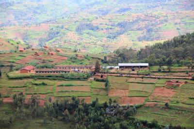 Die Primarschule Sanza - mit über 1000 Schülern
