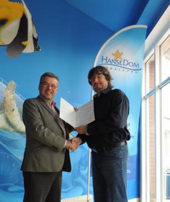 Foto zur Meldung: HanseDom Stralsund ist neuer Kooperationspartner der IGS