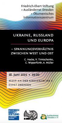 Foto zu Meldung: Ukraine, Russland und Europa - Spannungsverhältnis zwischen West und Ost