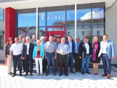 Die Bürgermeisterrunde der ILE Donau-Wald