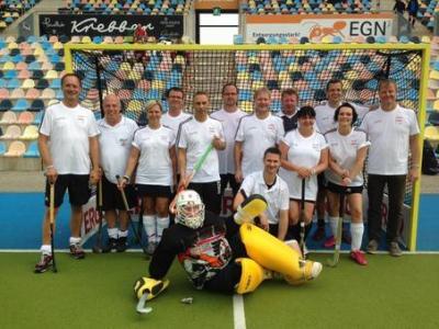 Foto zur Meldung: Elternhockey Festival 2014 im Warsteiner Hockeypark in Mönchengladbach