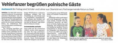 Partnerschule in Polen